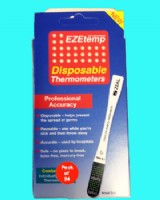 Single Patient Disposable Thermometer Ezetemp (Pack 24)