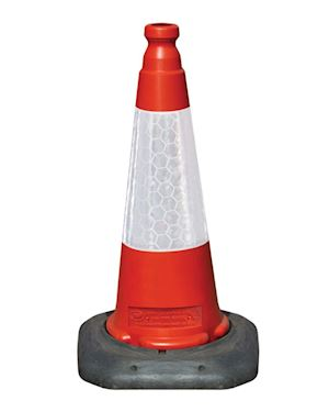 Road Cone One Piece Traffic Cone 500mm