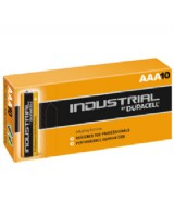 Duracell Industrial AAA  Alkaline Batteries 1.5V (Pack Of 10)