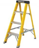 Glass Fibre Step Ladder For Painters & Electricians 4 Step