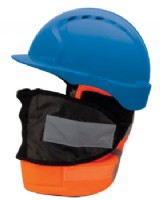 Helmet -Hard Hat Thermal Liner Balaclava Style RIS-3279-TOM