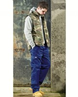 Redhawk Trouser By Dickies. Cargo Style With Kneepad Pockets.