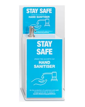 5 Litre Wall - Desk Mounted Hand Sanitiser Dispenser