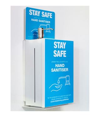 5 Litre Wall Mounted Hand Sanitiser Dispenser