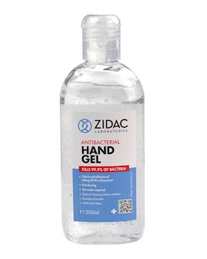 Alcohol Hand Gel 200ml - Pack of 12