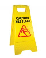 Caution Wet Floor Sign - 'A' Board