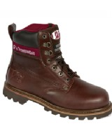 Fortec V1236 Boulder Mahogany Brown SBP Safety Boot
