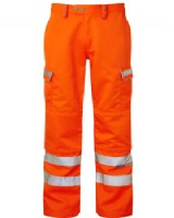 Hi - Vis Orange  Network Rail Trousers - RIS-3279-TOM  Regular Leg
