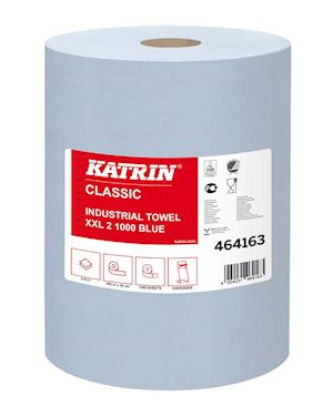 Katrin Classic Industrial Wiping Roll XXL Pack Of 2 - 464163