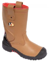 V6 Grizzly Scuff Cap S3 Safety Rigger Boots