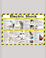 Electric Shock First Aid Chart