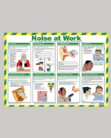 Noise At Work Wall Chart